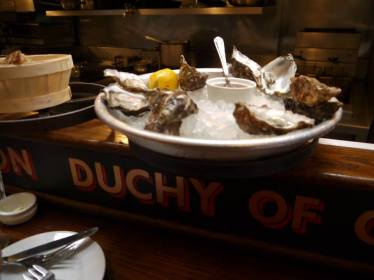 Oysters from Wright Bros.