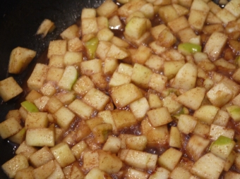 Apples are done.