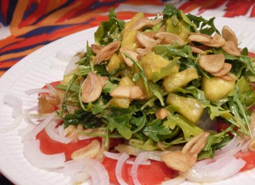 tomato pineapple salad
