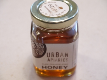 urban apiaries honey