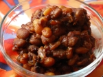 Beer baked beans.