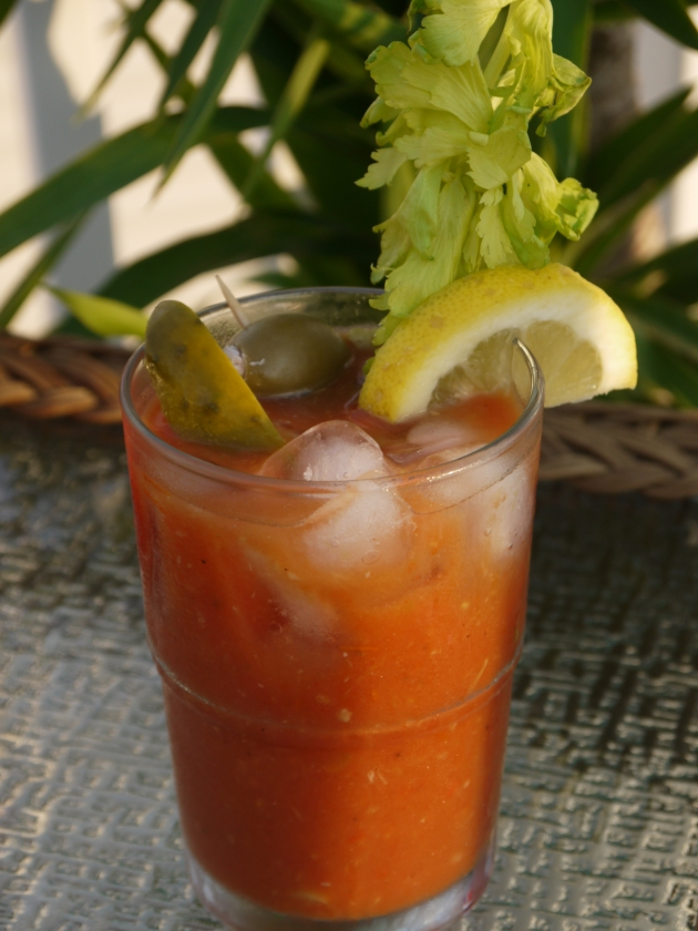 Roasted bloody Mary's.
