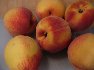 Summer peaches.